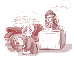 DC: already got a friend by Puffintalk