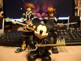 Sora's Meet King Mickey by Vqstudios