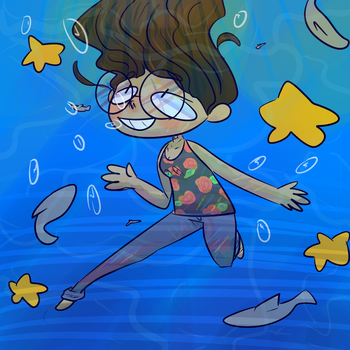 We Are Underwater  by ThatDorkInClass