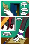 the Enigma - Issue 01 Pg 09 by sheenathehedgehog