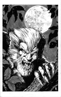 Wolfman pin-up by mhelwig