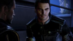 Shepard and Kaidan by LadyNaginiWesker