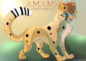 Amami- A cheetah's tale Poster by Taunii