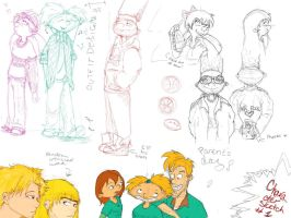 Bye, Arnold - Character sketch 01 by AJanae79