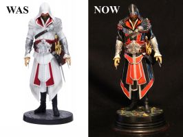 Ezio Was and Now by Joker-laugh
