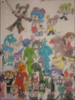 MY EPIC CARTOON POSTER by lacheetara