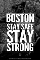 Boston: Stay Safe, Stay Strong! by luvataciousskull