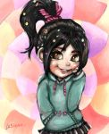 Wreck it ralph - Vanellope Von Schweetz by xLaSlayer