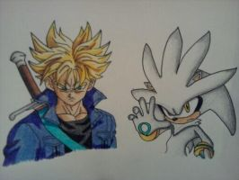 Trunks and Silver by android17lover