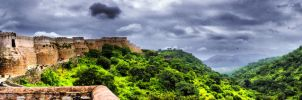 Monuments: Kumbhalgahr Fort 01 by letTheColorsRumble