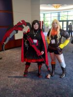 Ruby Rose and Yang Xiao Long by DarkLilly1991