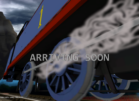 Trainz WWII Poster by TheDirtyTrain1