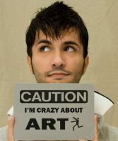 Crazy Artist by CaesarPower