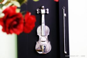 The Violin Silver by Markinhosd7
