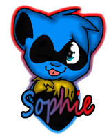 Sophie Badge by Sockune