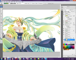 Sona w.i.p. by dawn-alexis