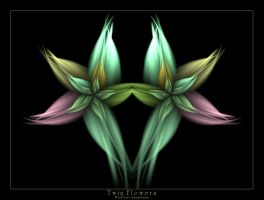 Twin Flowers by Wick5ter