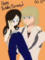Happy Birthday Barnaby :D by DororoXPenana