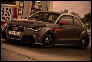 AUDI A1 GERMAN STYL by ROOF01