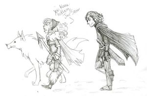 You Know Nothing, Jon Snow by penkii