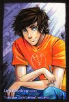 Copic Marker Percy Jackson by LemiaCrescent