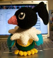 Chatot Crochet Plush by First-Mate-Kate