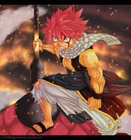 Fairy Tail 328 : Dragon Slayer Natsu (youtube) by xTheMagicianx