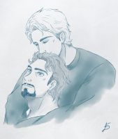 Steve/Tony: My Sunshine by frafru