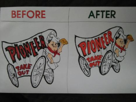 Pioneer Chicken - Draw This Again! Meme by Namco-NintendoFan-88
