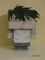 Death Note Cubeecraft - L by x0xChelseax0x