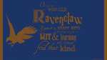 Ravenclaw Wallpaper by Niongi