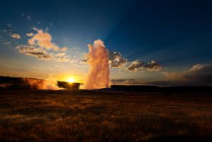 Old Faithful I by Voedin