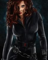 Black Widow by Bya-Bya