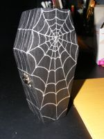 Coffin Halloween decoration by KellyGirl1