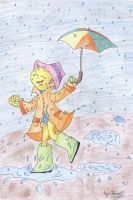 I singing in the rain by punki123