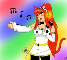 singing with the soul by inupuppy1412
