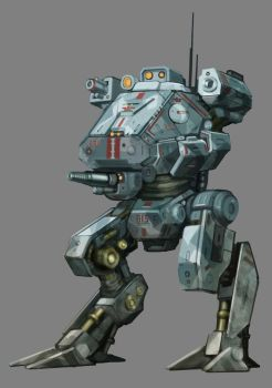 Krithean Imperial Scout Armour Walker III by Lichen93
