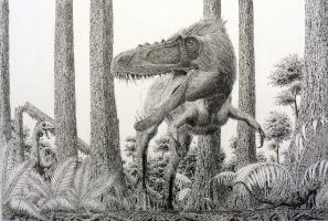 Alioramus. by Frank-Lode