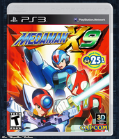 MegaMan X9 Box Art V.2 by MegaMac