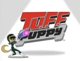 Tuff Puppy Logo:Kitty Katswell by TOONBackgrounds