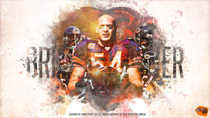 Brian Urlacher by TheHawkeyeStudio