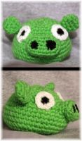 Green Pig by Mary-SD