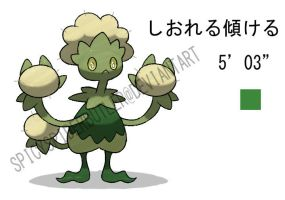 Wilting Fakemon by TRspicy