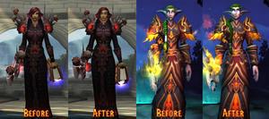 World of Warcraft Patch 6.0 Character Change by War-Of-Art
