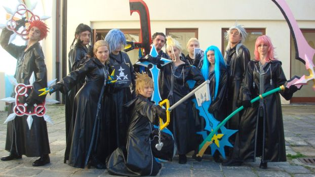 The Organization XIII by BakaRinoa