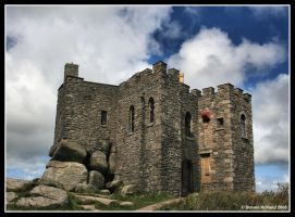 Carn Brea Castle - Cornwall by Kernow-Photography