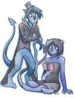 Derek and Val CO by The-White-Luxio