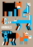 4Colors Animals by Exhibit-E