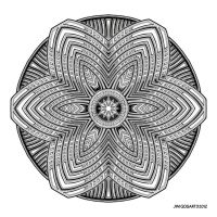Mandala drawing 39 by Mandala-Jim