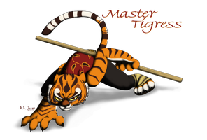Master Tigress by Cattensu